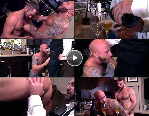 cum filled gay porn video